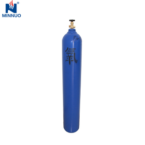15L welding kit oxygen acetylene cylinder types of lpg cylinders n2o o2  yoke valve cylinder oxgen gas tank bottle
