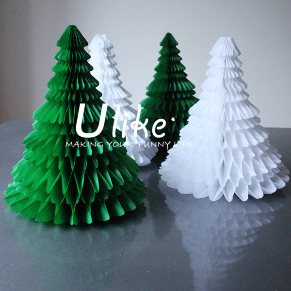 Paper Christmas Decorations.Customized Christmas Paper Honeycomb Tree Xmas Honeycomb Wholesale Christmas Decorations Canada Crafts Honeycomb Paper Tree Buy Customized Christmas