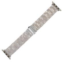 Новый стильный цветной светильник, полимерный браслет для Apple Watch, ремешок серии 5 4 3 2 1 для мужчин/женщин, ремешок для Apple iWatch 40/44/38/42 мм(Китай)