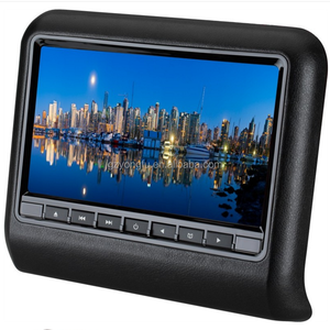 9 inch car headrest dvd player car back seat monitor With IR FM Game Speakers