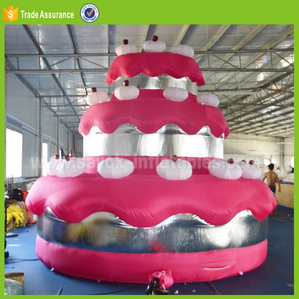 Cake Model Prices Portable Giant Inflatable Birthday Cake