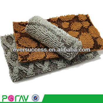 anti slip chenille floor mat soft microfiber bedroom floor rug buy microfiber bedroom floor. Black Bedroom Furniture Sets. Home Design Ideas