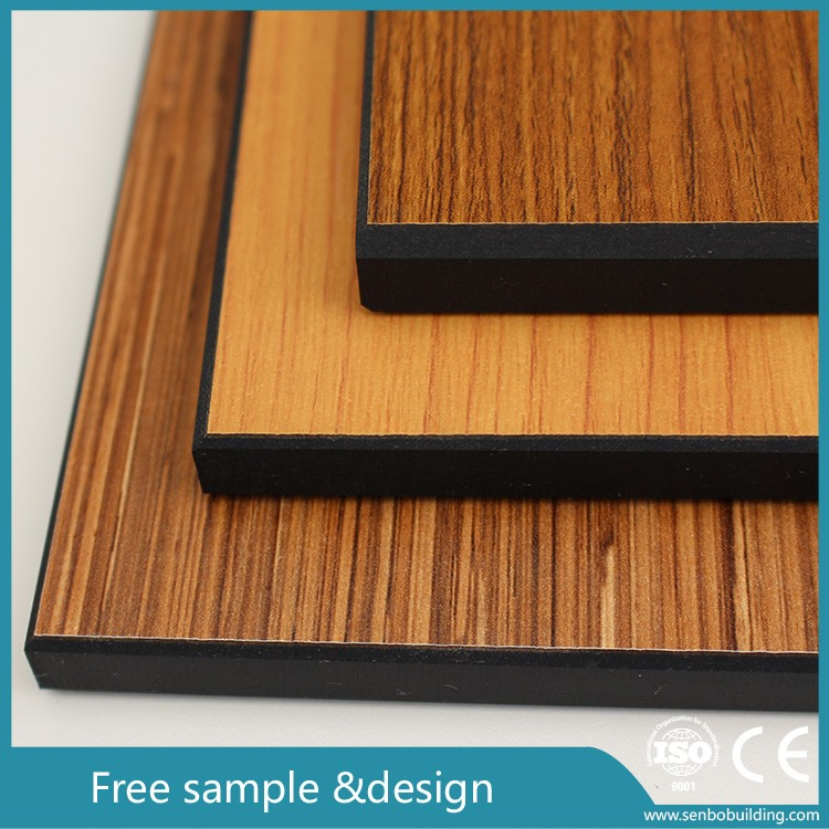 Black laminated phenolic resin board hpl compact