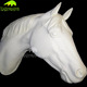 KANOSAUR4587 high quality resin craft fiberglass head horse statue