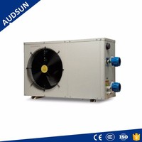 4KW Portable Pool Heat Pump,220V/60HZ Power Heat Pump Factory ECO Spa & Small Pool Heater,CE/GS,Fast Pipe Connect