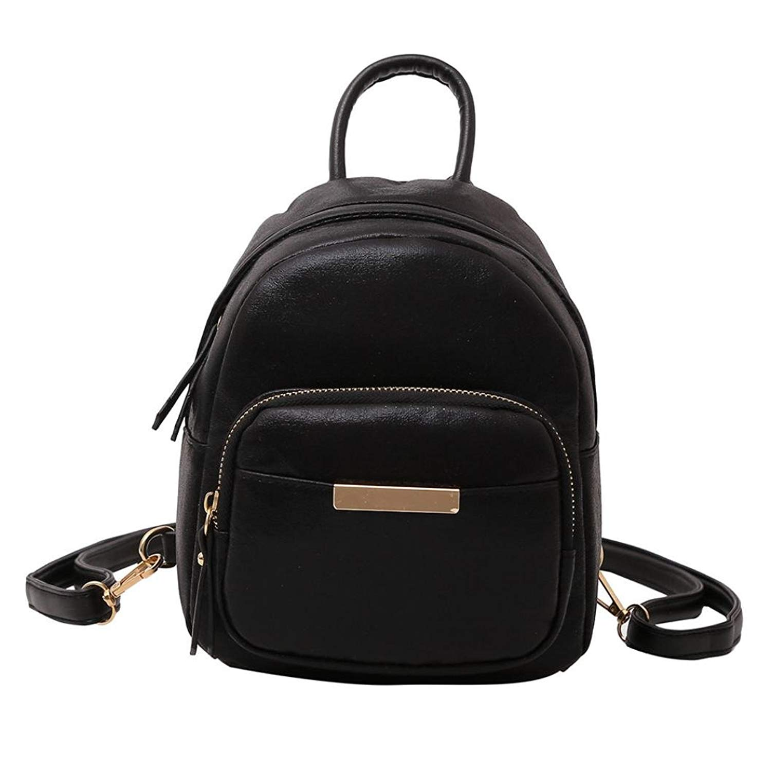 edb75e8045 Get Quotations · Women Leather Backpack Purse Satchel School Bags Casual Travel  Daypacks for Girls