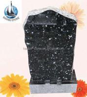 Haobo Labrador Blue Pearl Granite Headstone