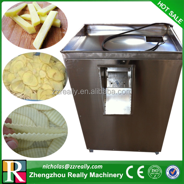 220v/380v high efficiency electric potato chip slicer