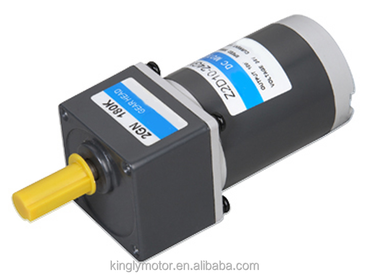 60mm 12V 24V DC 10W Gear Motor