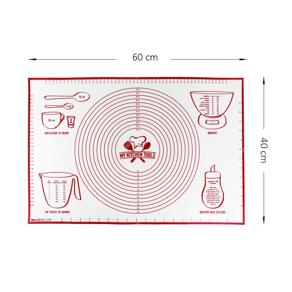 Food Grade Non-stick Cooking Mat Pyramid Pan Silicone Baking Mat for Healthy Cooking