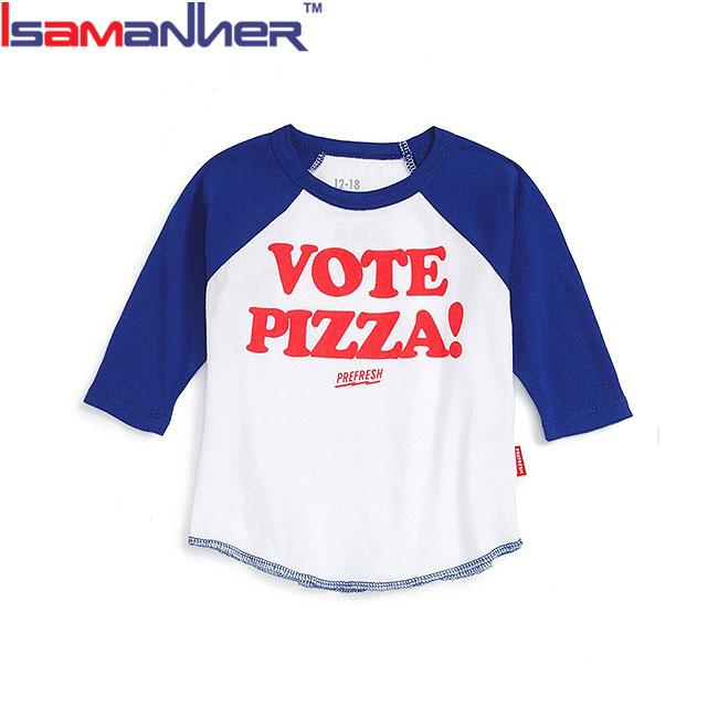 Personnalisé bébé vêtements à manches longues garçons raglan t-shirt fantaisie