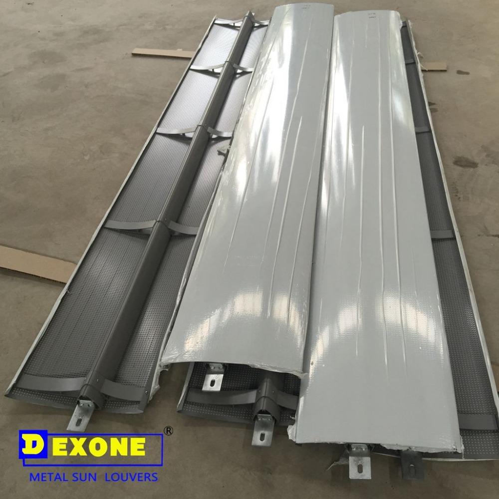 Aluminum Exterior Perforated Solar Shading Aluminum Sun