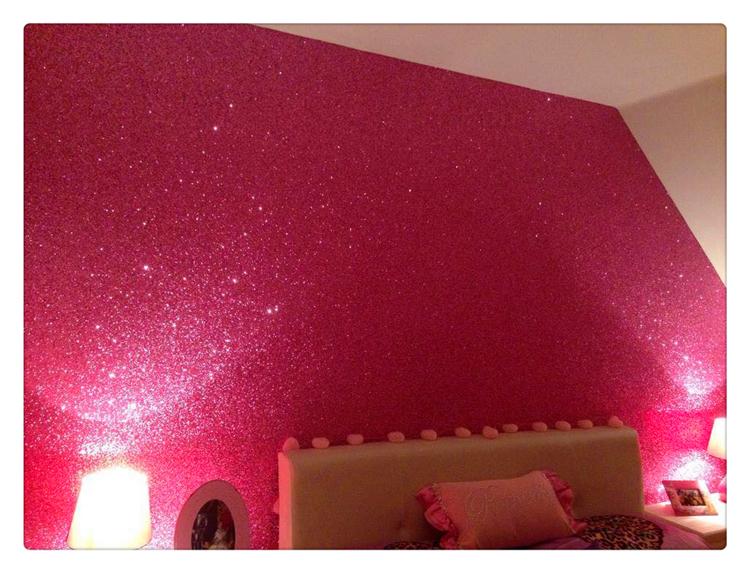 Glitter Wallpaper For Bedroom