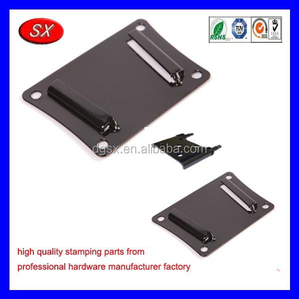 customized Crown Automotive Leaf Spring Plate Fits flat led tv wall mount bracket