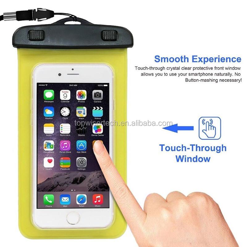 927f5f21366 2019 de moda de alta calidad Universal de PVC impermeable cajas del teléfono  móvil bolsa impermeable
