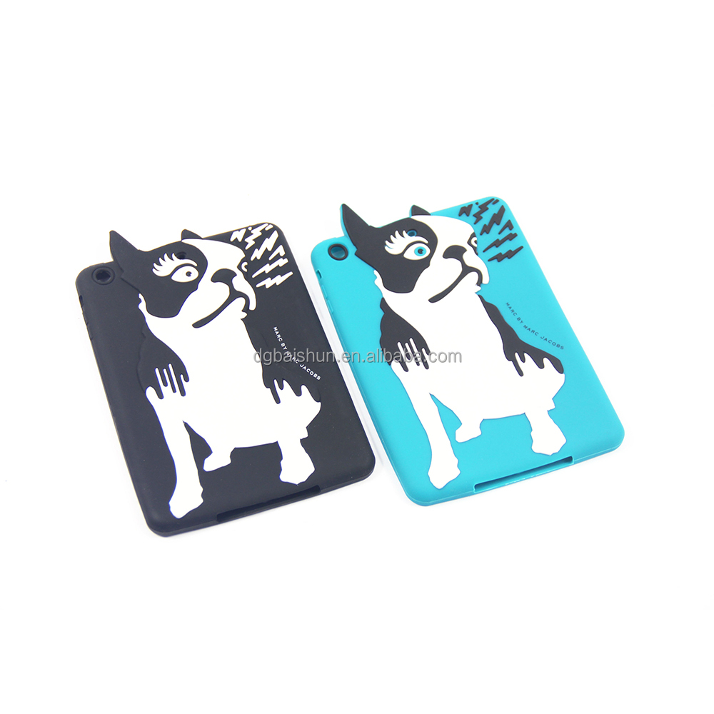 "dongguan factory Wholesale 5.5"" lovely series cute silicone mobile phone case"