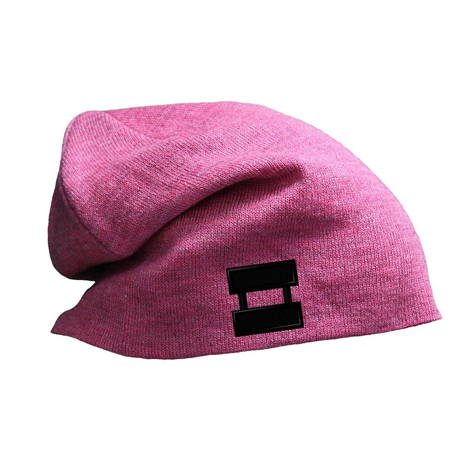 015797e7 Get Quotations · Brilliant Army Military Captain Embroidery Slouch Long  Beanie Skully Hat
