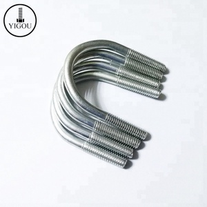 High Grade 4.8 6.8 8.8 10.9 12.9 High Tensile Carbon Steel U Bolt