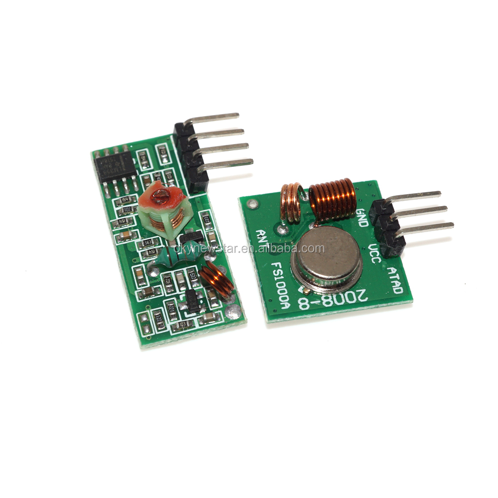 Receiver Module 43392mhz Suppliers And Rf433 Rx This A Simple Which Operates At 433mhz The Manufacturers