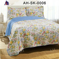 queen size indian cotton bed cover bedding set wholesale for sale