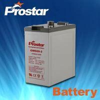 Prostar Solar Battery 2V 600AH