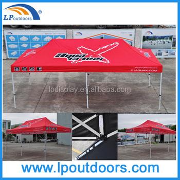 10x20 Outdoor Hexagonal Aluminum Frame Tent Pop Up Tent Beach Shade ...