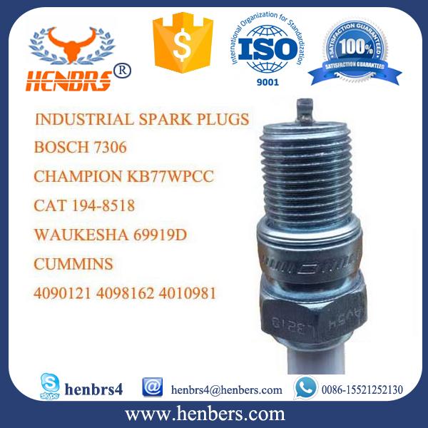 อุตสาหกรรมก๊าซหัวเทียนแทนที่สำหรับWaukesha 69919D Bosch 7306เหมาะสำหรับแมว3600, Wauhesha VHP4, AT825,ซูพีเรีย2400กรัมหัวเทียน ขายส่ง ・ ผู้ผลิต・ ผู้จัดจำหน่าย
