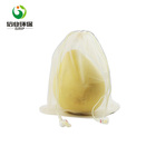 nylon grocery drawstring mesh shopping bags for fruits and vegetables
