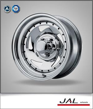 Chrome Plated Steel Car Wheels Rim 4x4 Deep Dish Sport Car Rims