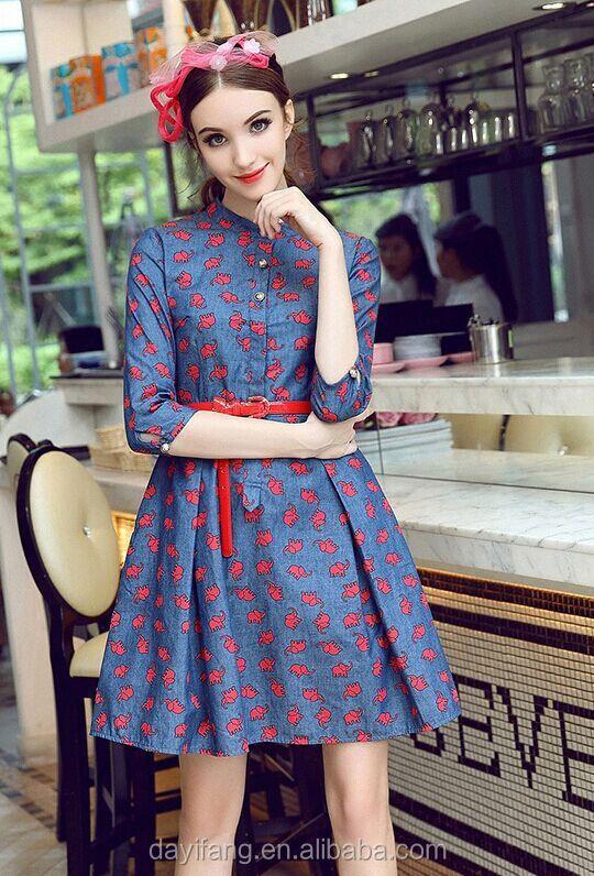 a8ddacef62e4 Impegno Vestito Vestito Ragazza Donne Mature Vestito - Buy Product ...