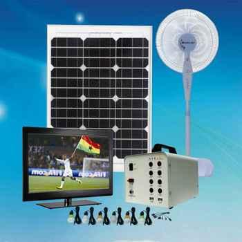 Portable Solar Home Lighting System Led Light Kit For Houses