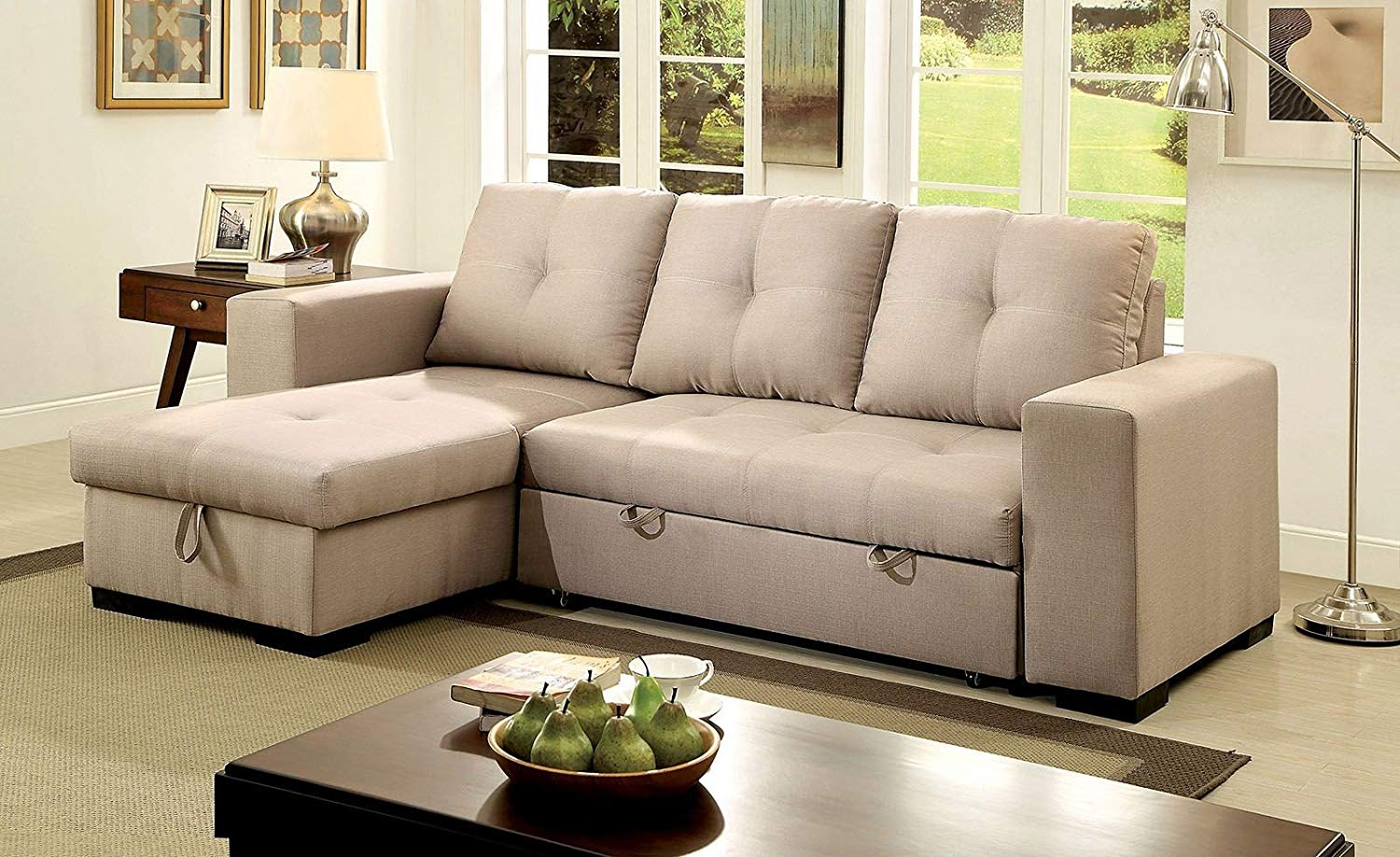 Phenomenal Buy Adjustable Sectional Sofa With Reversible Chaise And Spiritservingveterans Wood Chair Design Ideas Spiritservingveteransorg