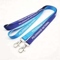 Personalized Custom Printing Logo Polyester Neck ID Lanyards With Logo Custom