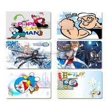 Cartoon Credit Card Model 4GB 8GB 16GB 32GB usb 2.0 flash memory pen drive U Disk usb 2.0