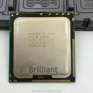 for Intel Xeon X5690 CPU processor 3 46GHz LGA1366 12MB L3 Cache Six Core  server CPU
