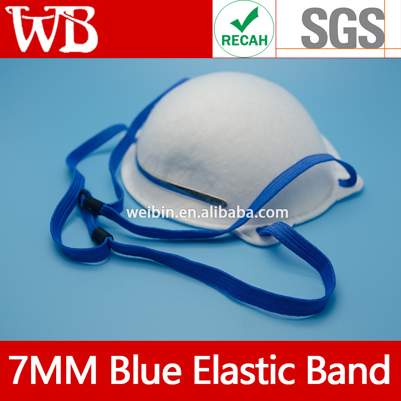 colored Flat Elastic Cord For Nonwoven Mask