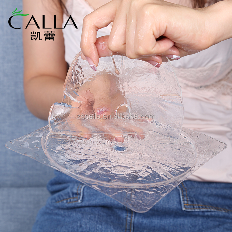 Wholesale korea best firming natural collagen crystal sheet collagen breast mask