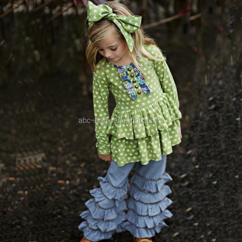 Mustard Pie Remake Fall Wholesale Children's Boutique Clothing