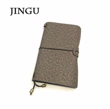 2018 Amazon vintage stil angepasst travel journal pu-leder <span class=keywords><strong>softcover</strong></span> <span class=keywords><strong>notebook</strong></span> mit metall dekoration