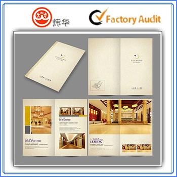 hotel brochures samples
