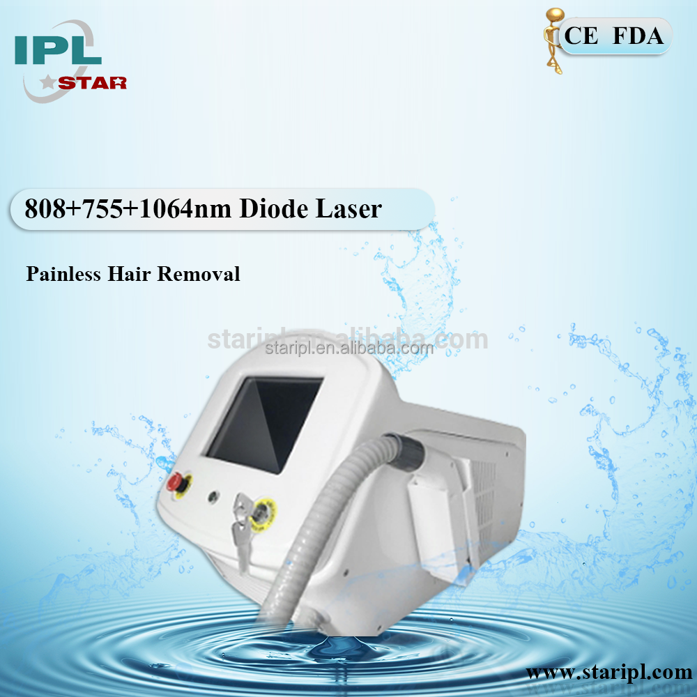 china invention patent 2017 alex755 diode808 nd yag1064 n permanently removal unwanted hair laser machine for individual needs