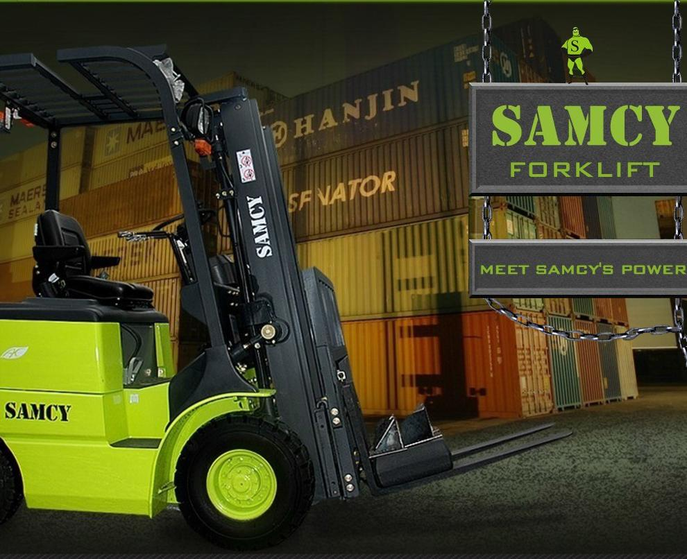 Select location type business with dock or forklift business without - Wuxi Samcy Equipment Co Ltd Internal Combustion Forklifts Electric Forklift Trucks