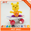 Funny mini wind up scooter bear