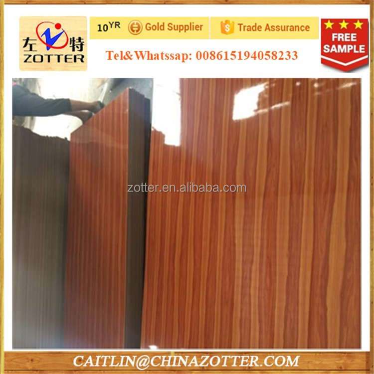 Colored polyester overlay plywood for decoration, furniture,cupboard,wardrobe,cabinets