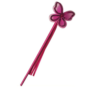 Pink Magic Wand For Girls In Butterfly Style