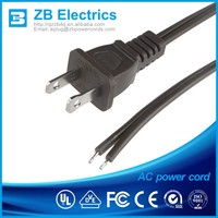 power cord with UL ,CUL, CSA certification ac power cord cable