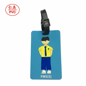 bulk wholesale cheap promotional gifts custom logo brand travel accessory quality pu luggage tag