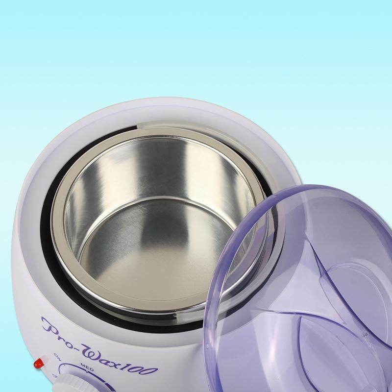 Electric body hair removal paraffin pot heater depilatory melting hard wax beans warmer machine