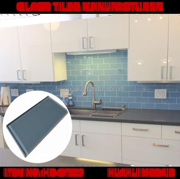 3x6 Blue Gl Subway Tiles Kitchen Backsplash Supplier