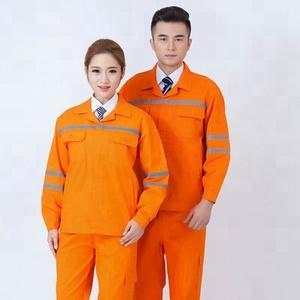 Wholesale Reflective Safety Construction Worker Uniform Workwear Reflec Safety Usage working wear soft clothes